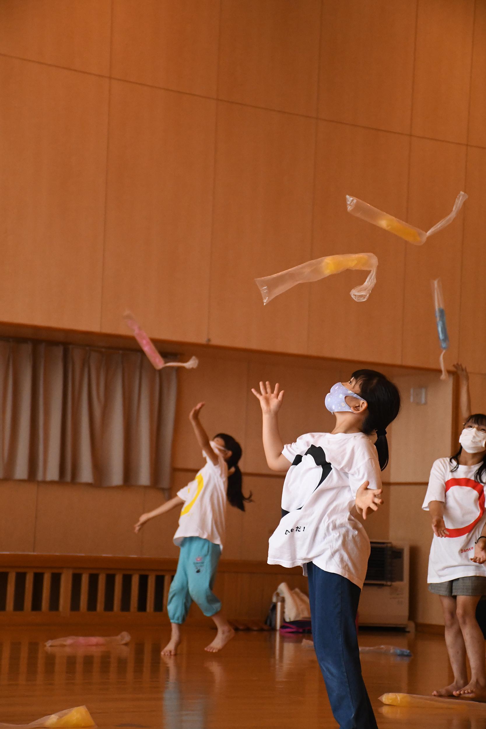 身体表現ワークショップ(小学生以上) 荘銀タクト鶴岡2021年度自主事業【Dance Dance TACT】